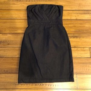 Strapless Denim Dress New York & Company Size 2